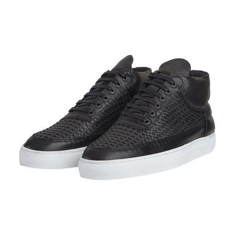 etq 600x600 ETQ Mid Top All Black Sneakers | All Black | Pinterest | Black  sneakers and Black