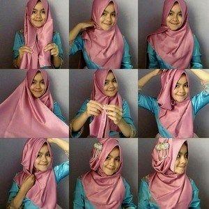 Tutorial Hijab Pashmina Licin Untuk Pesta Tutorial Hijab Pashmina Gaya Hijab Pesta