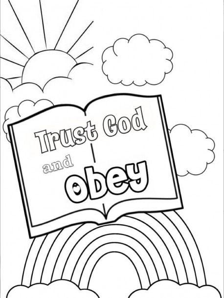 Trust God Coloring Pages Sunday School Coloring Pages Sunday School Crafts Sunday School Coloring Sheets