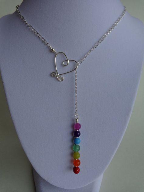 Sept Chakras collier collier de pierres par IrisJewelryCreations