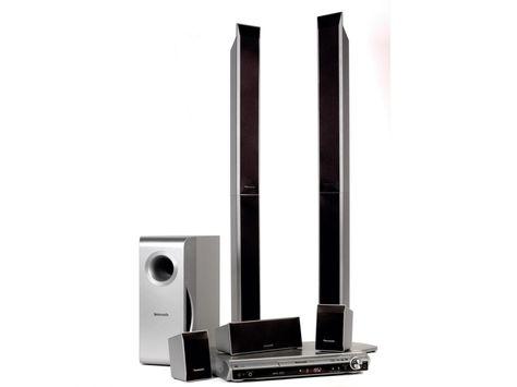 Panasonic blu-ray home theater system model sc-bt330.