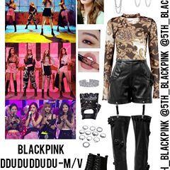 Blackpink Ddu Du Ddu Du M V 5th Member Inspired Outfit