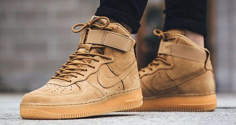 Details about Nike Air Force 1 Tan Winter Flax Outdoor Uk 5.5