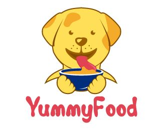 Yummyfood Logo Design Simple And Professional Design Of A Pet