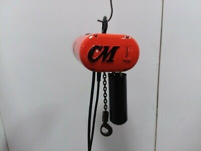 Cm Lodestar Model J 1 2 Ton Electric Chain Hoist 32fpm 115v 1ph 15 Lift Ebay Hoist Electricity Ebay