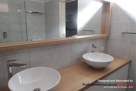 2016 Ensuite, designed and renovated by Bathroom Renovations Perth https://www.facebook.com/bathroomrenovationperth