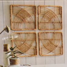 Rattan Wicker Wall