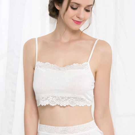 14 Pack Clip On Camisoles Mock Bra Inserts Hollow Lace Modesty Panels Easy Quick