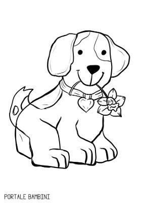 Disegni Di Cani Da Colorare Portale Bambini Disegni Di Cane Disegni Cagnolini