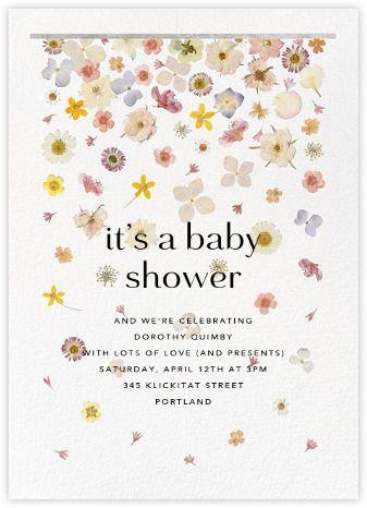 Baby Shower Invitations Online At Paperless Post Sarah Garibaldi