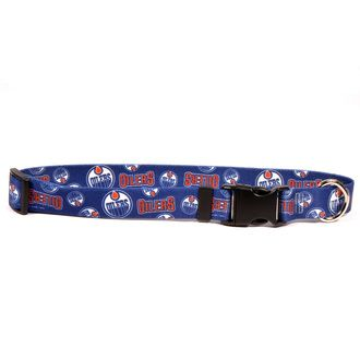 Edmonton Oilers Dog Collar With Images Dog Collar Jersey Outfit