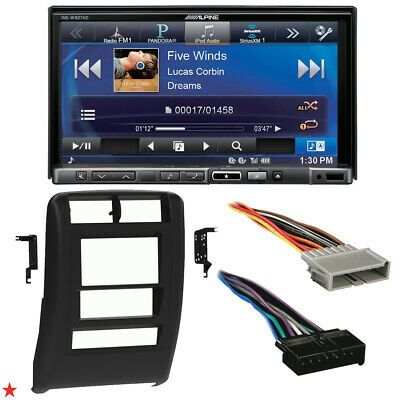 1997 2001 Jeep Cherokee Double Din Car Stereo Installation Dash