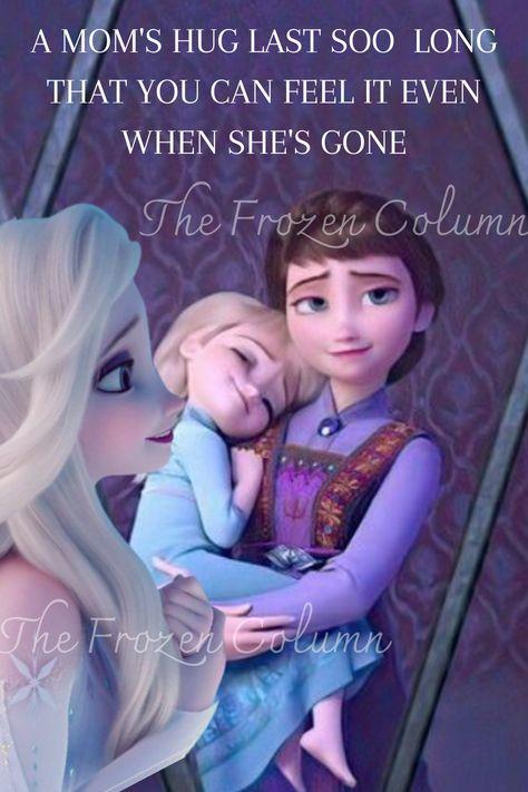 A mom's hug