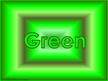 the word green