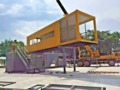 40 Shipping Containers For Sale Ebay >> Details About 40 Ft Shipping Container Home 1 Bd 1 Bth With