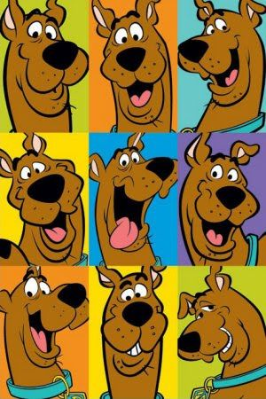 Scooby Doo poster for his room?