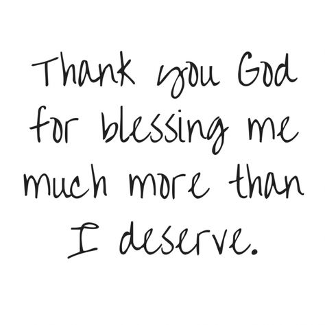 Thank You God for Blessing Me – Free Print