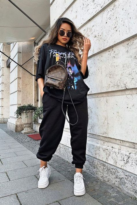 15+ Cute Sweatpants Outfits for a Impressive Street Style