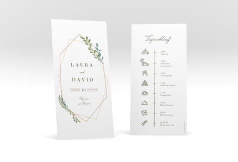 Tagesablauf Hochzeit Herbarium Tagesablauf Hochzeit Karte Hochzeit Und Hochzeitskarten