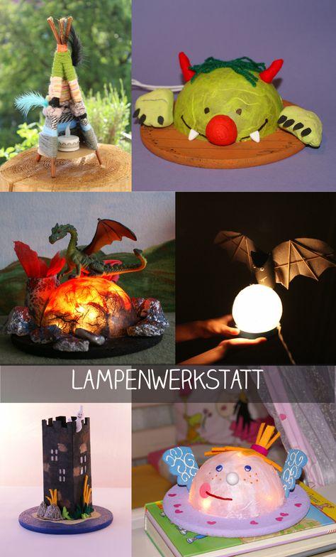 Designe Deine Individuelle Schlummerlampe In Unserem Lampenworkshop Http Erfinderkinder Net Aktuelles Kreative Koe Kindergeburtstage Kinder Kindergeburtstag