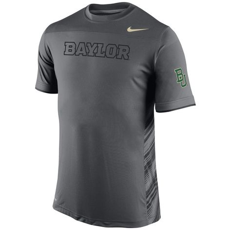 2e38e0711 Baylor Bears Nike Speed Top Performance T-Shirt - Anthracite ...