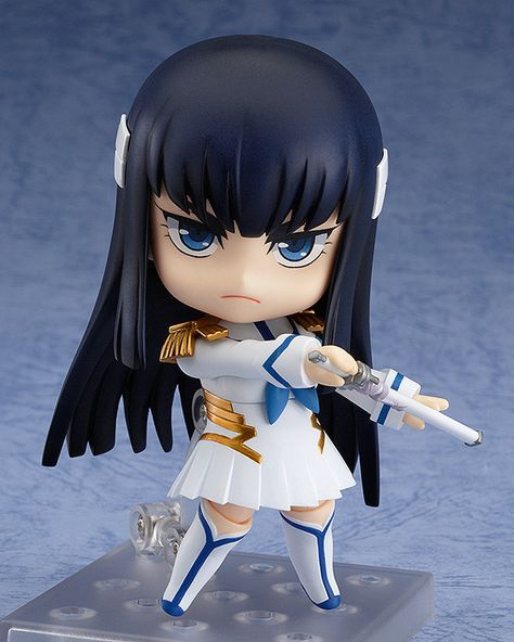"""You're all just pigs in human clothing! Surrender to the truth!""From the popular anime series Kill la Kill comes a rerelease of Nendoroid Satsuki Kiryuin, Honnoji Academy's Student Council president who rules through unquestionable force and fear. She comes with both her standard confident expression, a powerful shouting expression as well as her beloved sword 'Bakuzan' in both sh... #tokyootakumode #figure #Kill_la_Kill #Satsuki_Kiryuin"