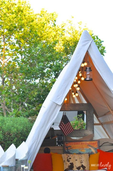 Glamping Tips and Ideas - Make Life Lovely