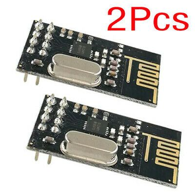 2PCS Arduino NRF24L01 2.4GHz Wireless RF Transceiver Module