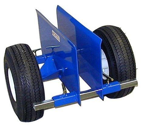 Wesco 272952 Hydraulic Lift Furniture Mover Set Polyurethane Wheels 26.5 x 16 x 42 3,950-lb 10 Lift Height Load Capacity