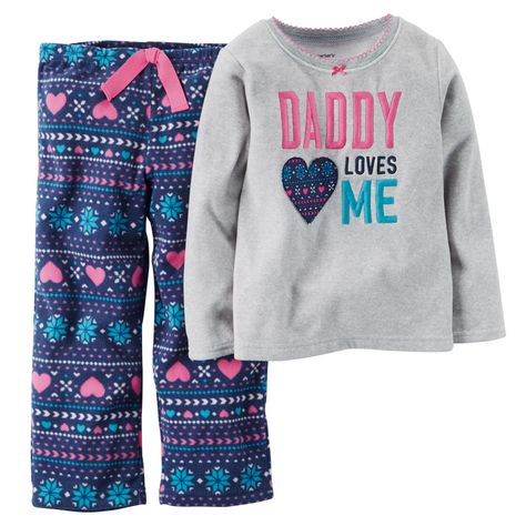 Kid Girl 2-Piece Fleece PJs | Carters.com