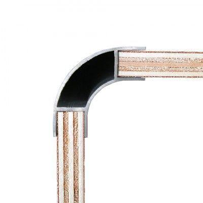 Aluminium Corner Profile For 15mm Plywood Morland 220cm