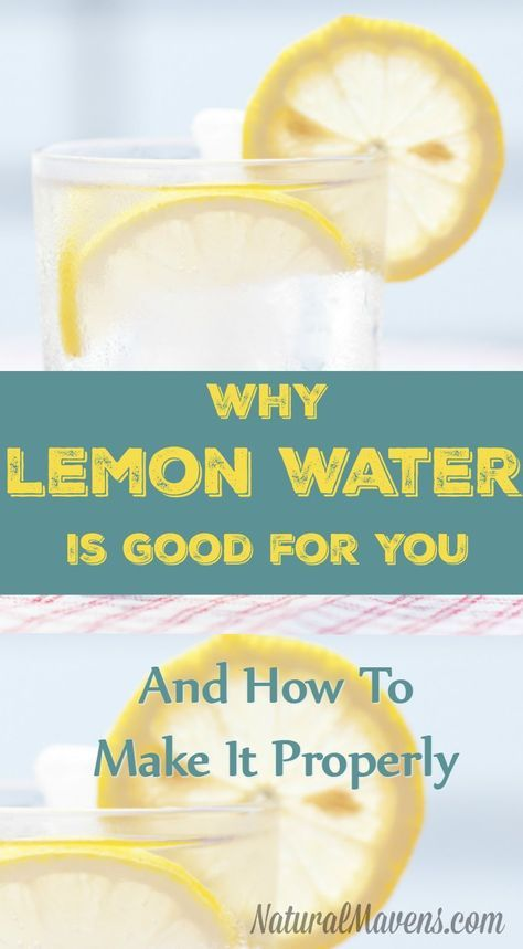 Do you know how to make lemon water properly? Here's how to do it, plus an overview of the health benefits lemon water delivers.