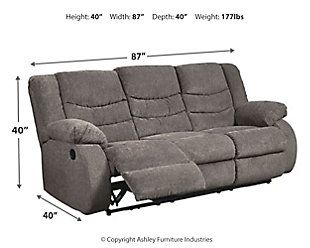 Superb Furniture Felyx 84 2 Pc Fabric Power Reclining Sofa With Machost Co Dining Chair Design Ideas Machostcouk