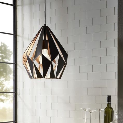 You'll love the Baranowski 1-Light Mini Pendant at Wayfair - Great Deals on all Lighting products with Free Shipping on most stuff, even the big stuff.