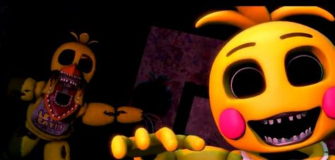 Withered chica and I singing the Fnaf 2 rap!