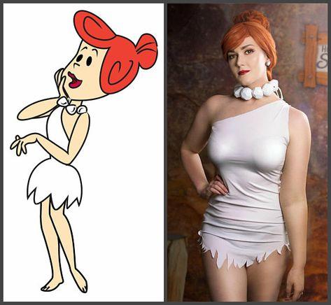 WILMA FLINTSTONE Cosplay (The Flintstones, Wilma Flintsyone cosplay costume, cartoon cosplay.
