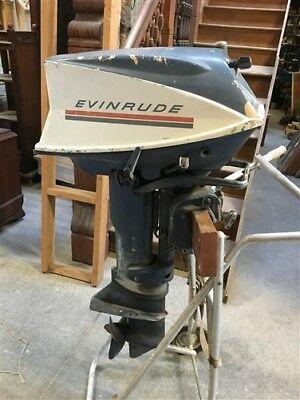 Evinrude 25 Hp >> 1969 Evinrude Sportster 25 Hp Model 25902 Outboard Boat