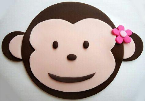 Fondant aap taart