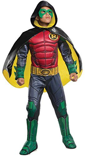 Robin Kids Boys Costume by Rubies Super Hero Kids Boy Super Halloween Dress New