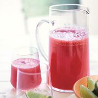 Watermelon-Ginger Agua Fresca