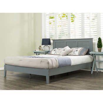 Blackstone Elite Kerrigan King Panel Bed Frame Gray Panel Bed