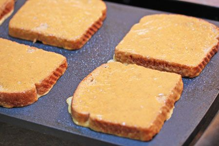 Pumpkin Pie French Toast...perfect for a Fall morning!