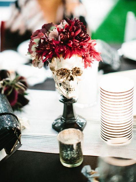Glamorous Halloween Wedding at Hollywood Forever Cemetery