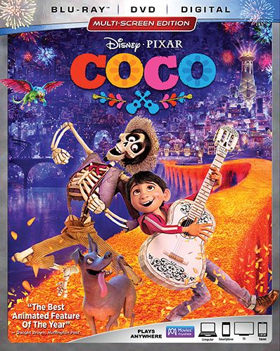 Coco Blu Ray Dvd Digital Audiovisual E Poster