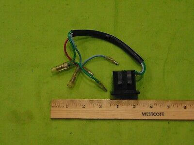 Mercury Mariner 1990s 2000s Era 40hp Power Trim Switch Assembly In 2020 Power Boat Parts Parts And Accessories