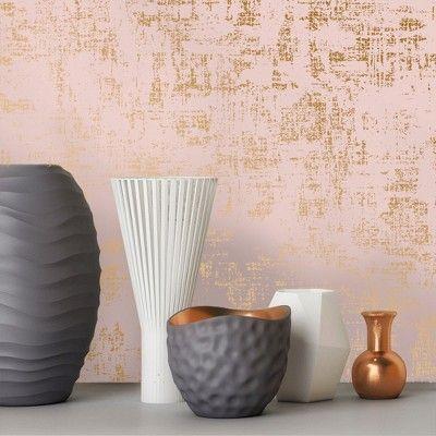 Devine Color Distressed Weave Pirouette Karat Wallpaper Diy Ceiling Accent Walls In Living Room Cool Walls