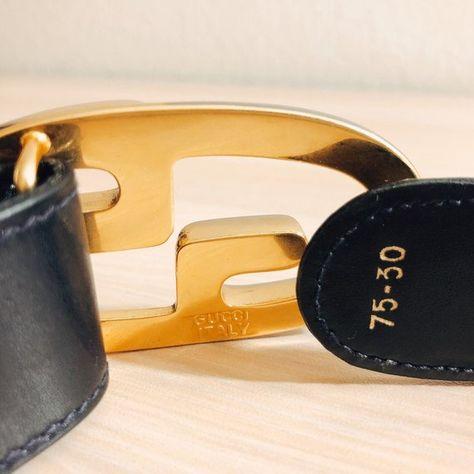 0c98f52c424 Vintage GUCCI Belt