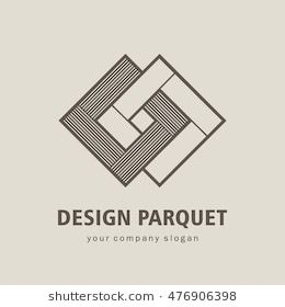 Vector Logo Parquet Laminate Flooring Tiles Tile Logo Vector Logo Design Logo Design
