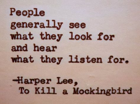 HARPER LEE To Kill A Mockingbird quote Literary by PoetryBoutique