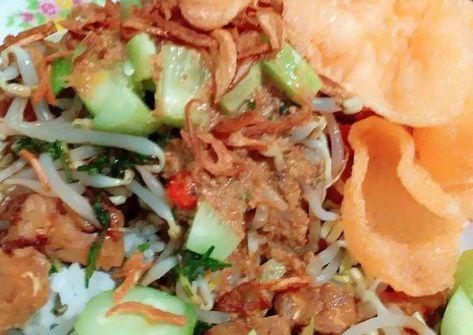 Resep Nasi Lengko Cirebon Lengko Sayur Oleh Ima Sabara